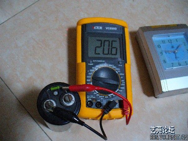 七. 数字万用表的使用方法图--电容的测量