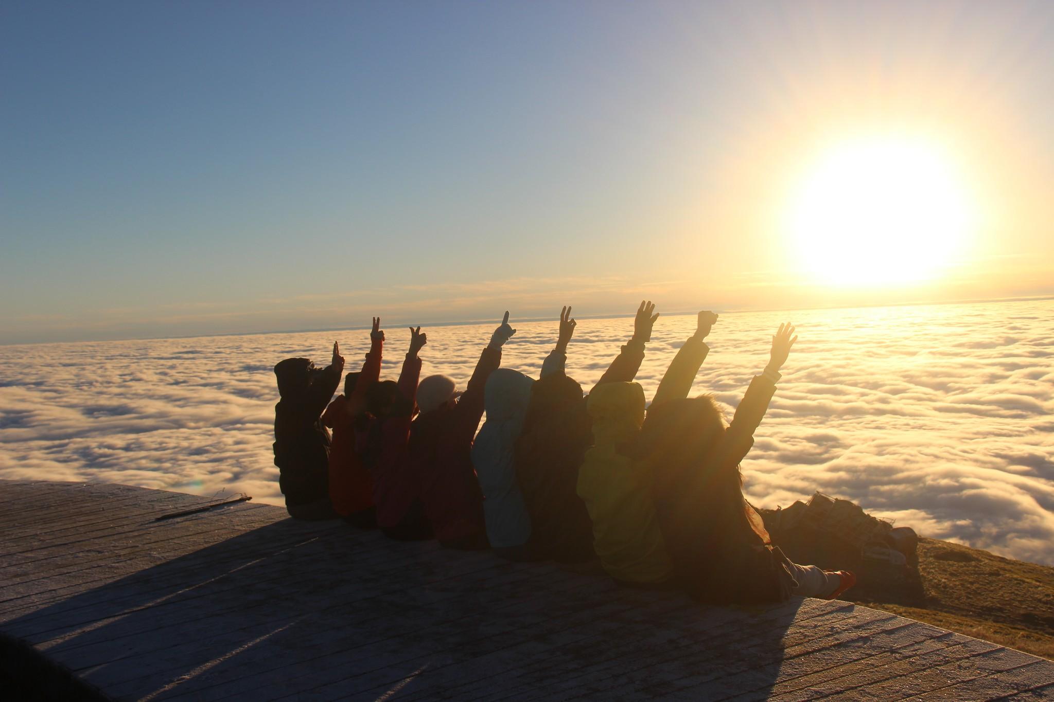 五一3天 | 江西武功山人间仙境、天上草原徒步、观云海日出日落奇观